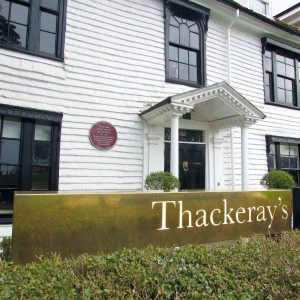 Thackeray's Tunbridge Wells